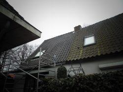OVH dakpannen op woonhuis in 's-Graveland